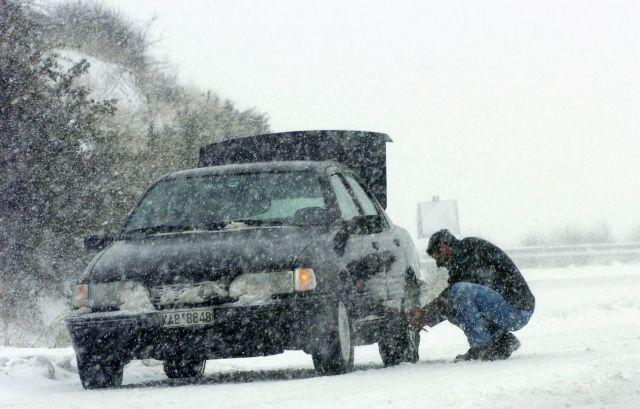 Μακεδονία: Σαρώνει η «Υπατία» - Πού χρειάζονται αλυσίδες | tanea.gr