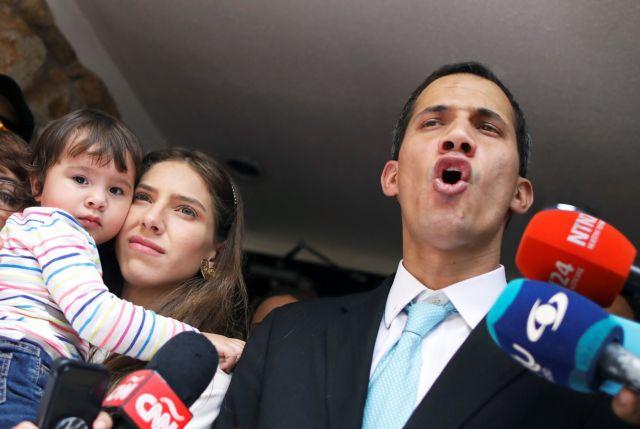 Προειδοποιήσεις ΗΠΑ εναντίον προσπαθειών εκφοβισμού στη Βενεζουέλα | tanea.gr