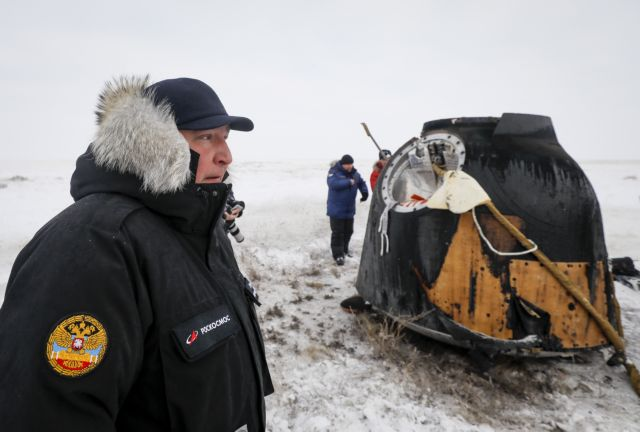 NASA: «Βέτο» γερουσιαστών στην επίσκεψη στελέχους της Roskosmos | tanea.gr