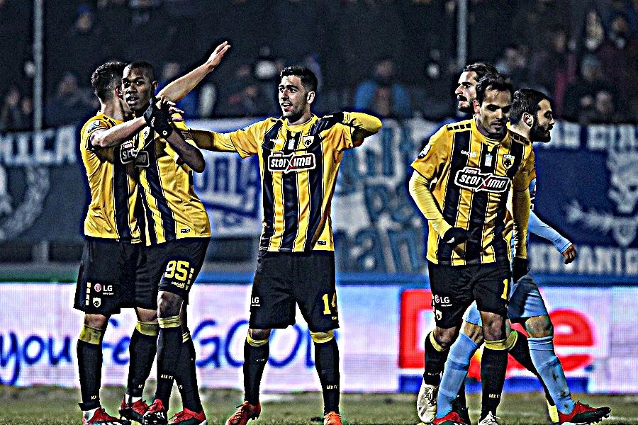 Η ΑΕΚ ξέσπασε στον Κολοσσό Ρόδου | tanea.gr