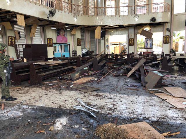 Μακελειό στις Φιλιππίνες: 21 νεκροί σε διπλή βομβιστική επίθεση | tanea.gr