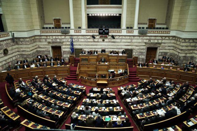 Tsipras, Mitsotakis cross swords in confidence vote on economy, political ethics, FYROM | tanea.gr