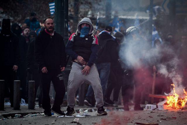 Κρατούμενος παραμένει ένας από τους επτά συλληφθέντες για τα επεισόδια στο συλλαλητήριο | tanea.gr