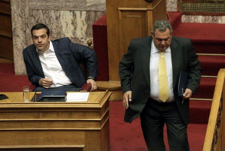 Αναβάλλεται η συνάντηση Τσίπρα - Καμμένου - Εντονο παρασκήνιο | tanea.gr