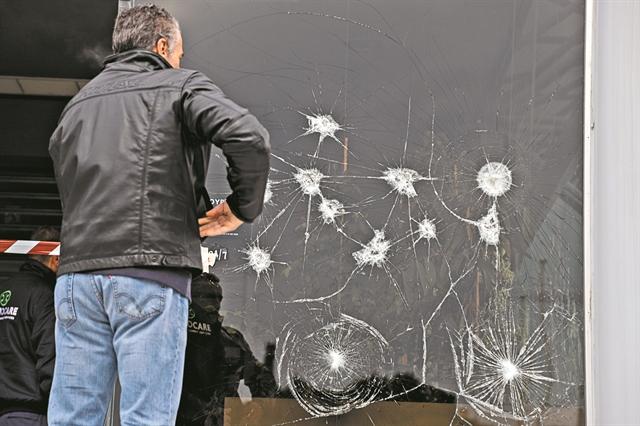 Απαθής η ΕΛ.ΑΣ. στις επιθέσεις του Ρουβίκωνα | tanea.gr