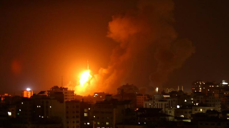 Ισραηλινή επίθεση στη Λωρίδα της Γάζας «μετά τα μπαλόνια των Παλαιστινίων» | tanea.gr