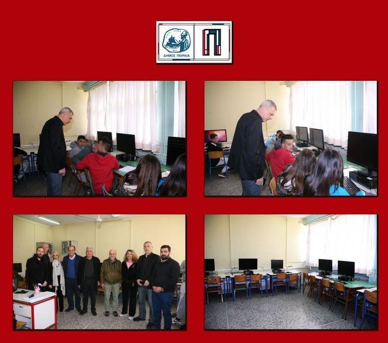 Νέο Εργαστήριο Πληροφορικής απέκτησε το 1ο Γυμνάσιο Νέου Φαλήρου | tanea.gr