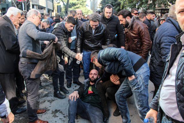 Αλβανία : Συλλήψεις 15 διαδηλωτών για τα επεισόδια κατά του Ράμα | tanea.gr