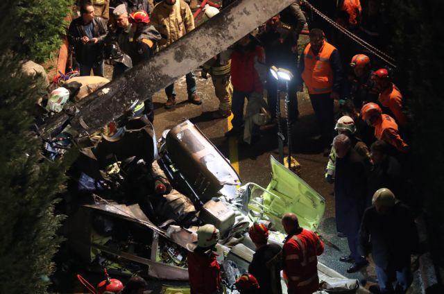 Τέσσερις νεκροί από τη συντριβή ελικοπτέρου στην Κωνσταντινούπολη | tanea.gr