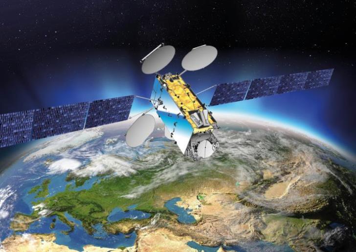 Εκτοξεύεται ο μεγαλύτερος δορυφόρος της Ευρώπης με την ελληνική και κυπριακή σημαία | tanea.gr