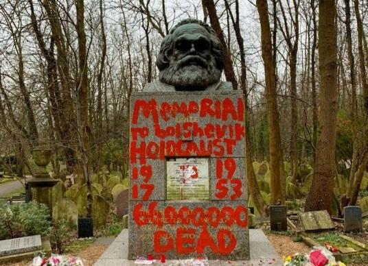 Λονδίνο: Αγνωστοι βεβήλωσαν ξανά τον τάφο του Καρλ Μαρξ | tanea.gr