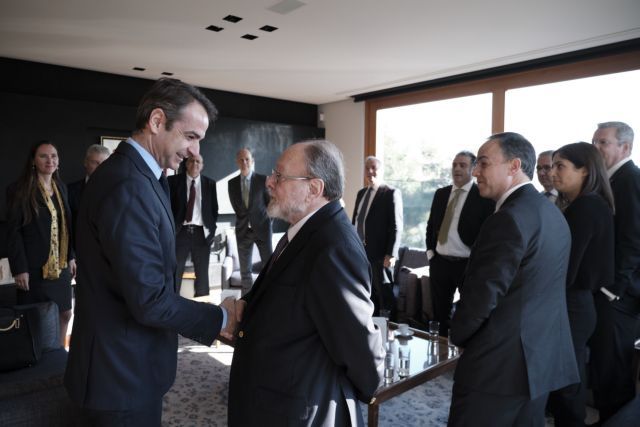 Mitsotakis pitches ND economic platform to German investors | tanea.gr
