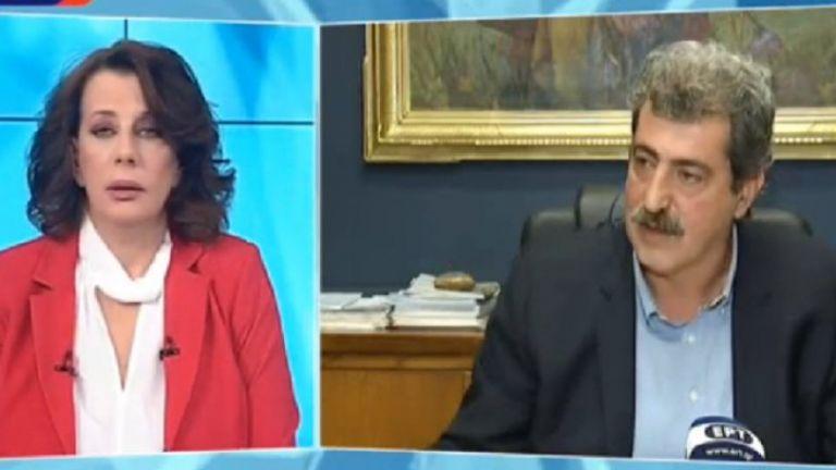 Η πιο στημένη συνέντευξη στην ΕΡΤ - Ο Πολάκης παραληρούσε, οι δημοσιογράφοι σιωπούσαν | tanea.gr