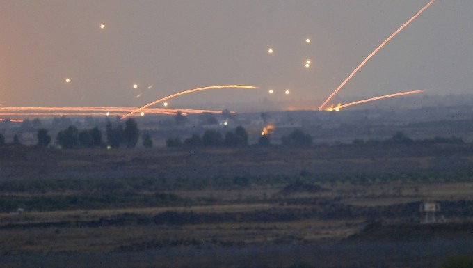 Ισραηλινοί βομβαρδισμοί με drones κατά της Συρίας   tanea.gr
