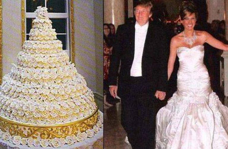 ΗΠΑ: Σε δημοπρασία τούρτα από τον γάμο του Τραμπ με τη Μελάνια | tanea.gr