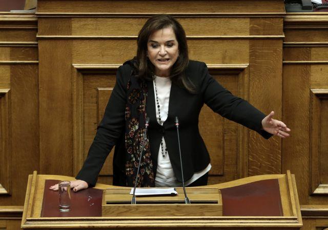 Ντόρα Μπακογιάννη: Κινδυνεύει ο αναπτυξιακός σχεδιασμός του Πειραιά | tanea.gr