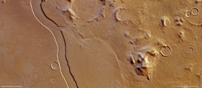 O Άρης είχε ποτάμια διπλάσια σε πλάτος από αυτά της Γης | tanea.gr