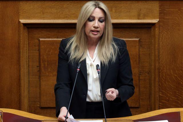 Φώφη Γεννηματά: Ζήτησε παραίτηση Δούρου μετά τη δίωξη για το Μάτι | tanea.gr