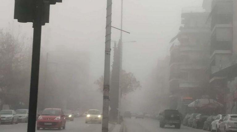 «Πέπλο» ομίχλης σκέπασε τη Λάρισα | tanea.gr