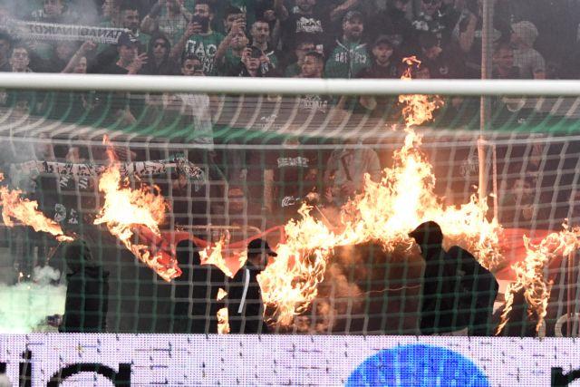 Οριστική διακοπή εξαιτίας των οπαδών του Παναθηναϊκού στο ντέρμπι | tanea.gr