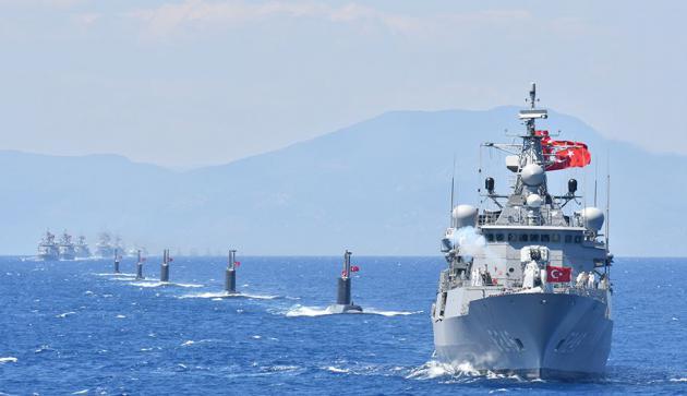 «Γαλάζια Πατρίδα»: Προκλητικό το σενάριο απόβασης σε… εχθρική ακτή | tanea.gr