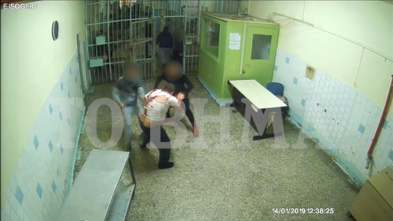 Βίντεο - ντοκουμέντο : Η σφαγή Αλβανού ποινικού μέσα στις φυλακές Κορυδαλλού | tanea.gr