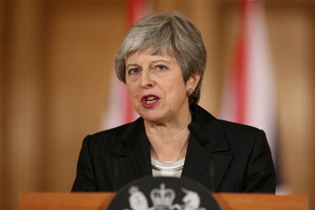 Brexit: Η Μέι διαμήνυσε πως «δεν αποχωρούμε από την ΕΕ στις 29 Μαρτίου»   tanea.gr