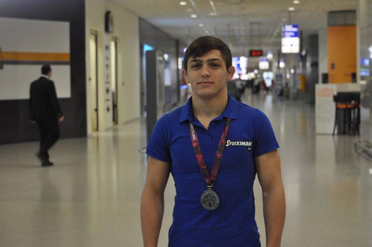 Στην Αθήνα ο Πρωταθλητής Ευρώπης, Γιώργος Πιλίδης   tanea.gr