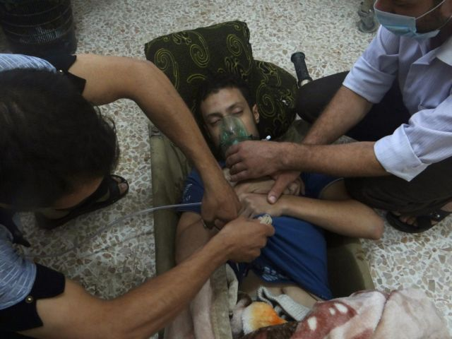 Συρία: Χρησιμοποιήθηκε «τοξικό χημικό» στην επίθεση εναντίον της πόλης Ντούμα | tanea.gr