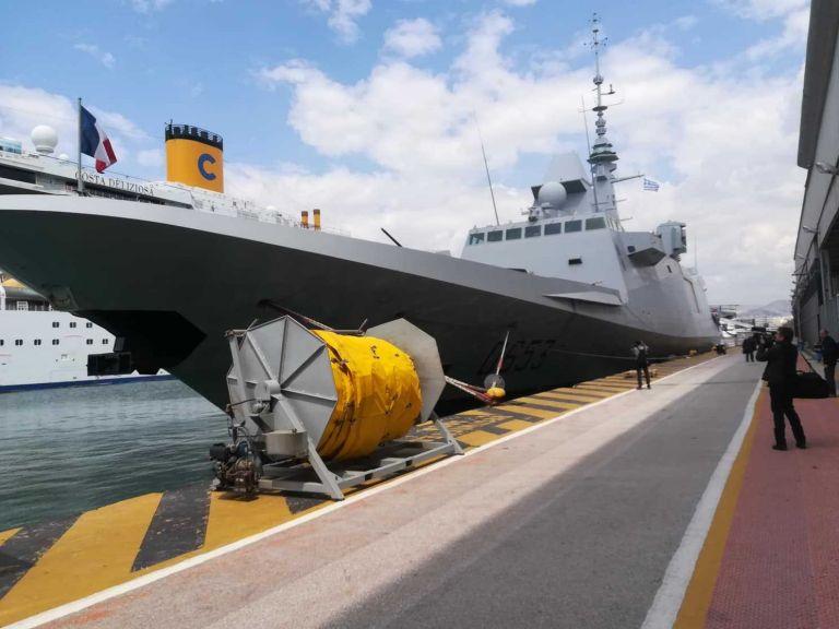 Στον Πειραιά η γαλλική φρεγάτα Languedoc με το «υπερόπλο» Scalp Naval   tanea.gr
