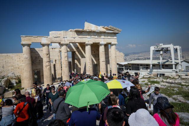 Ξανάνοιξε για τους επισκέπτες η Ακρόπολη | tanea.gr