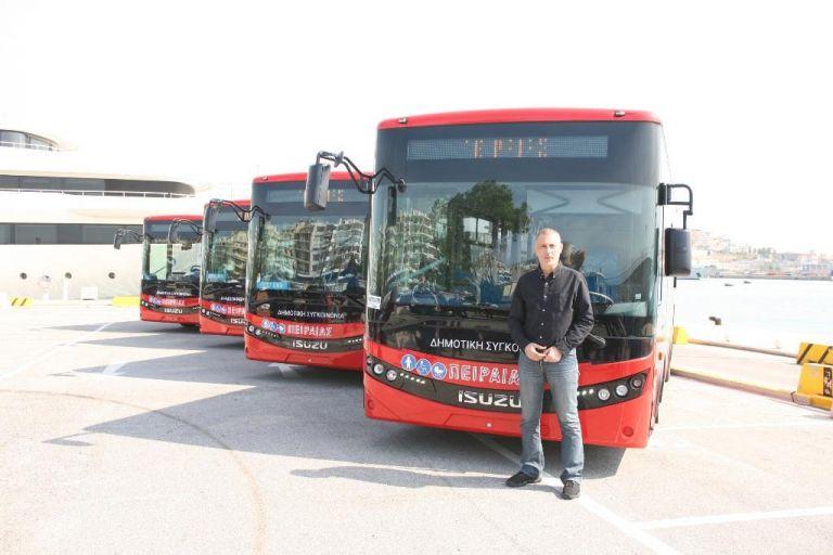 Τα νέα σύγχρονα λεωφορεία Δημοτικής Συγκοινωνίας Πειραιά παρουσίασε ο Δήμος | tanea.gr