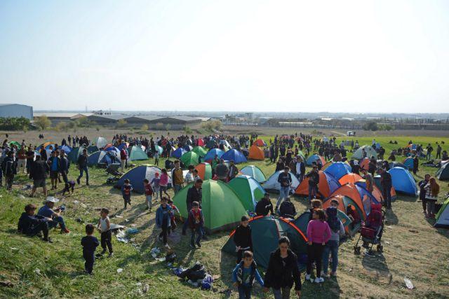 Διαβατά: Πρόσφυγες επιχείρησαν να εισέλθουν στο κέντρο φιλοξενίας | tanea.gr