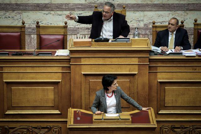 Βουλή: Επεισόδιο ΚΚΕ – ΧΑ με ηχηρή παρέμβαση Λαμπρούλη | tanea.gr