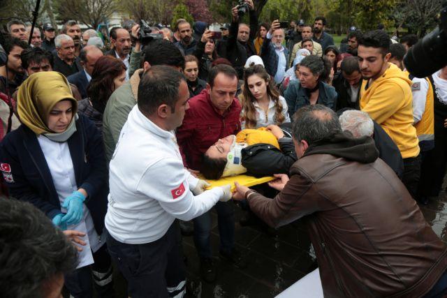 Τουρκία: Τραυματισμός βουλευτή του φιλοκουρδικού HDP σε διαδήλωση | tanea.gr