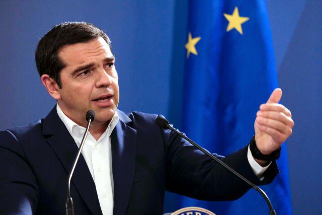 Παραδοχή Τσίπρα ότι υπάρχει πολιτικό κόστος από τις Πρέσπες | tanea.gr