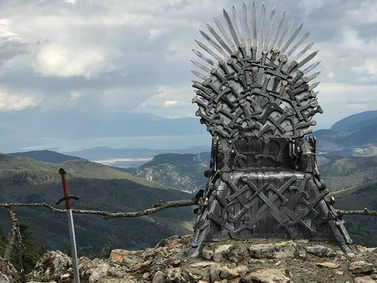 Game of Thrones: Ο Σιδερένιος Θρόνος βρίσκεται στην... Οίτη | tanea.gr