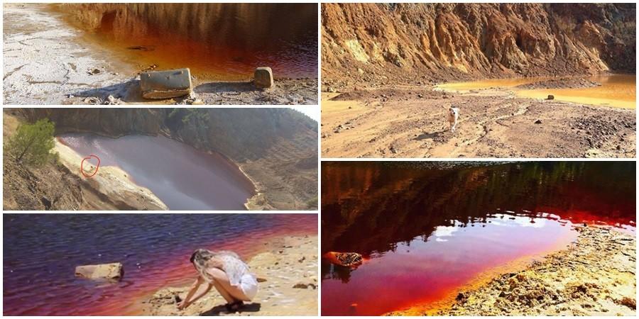 e8e2a11eae Φρίκη στην Κύπρο  Για μήνες φωτογράφιζαν βαλίτσες στην κόκκινη λίμνη ...