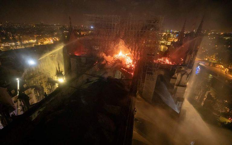 Παναγία των Παρισίων: Γλίτωσαν από τη φωτιά οι 200.000 μέλισσες | tanea.gr