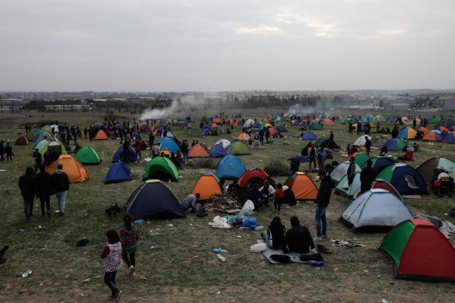 Διαβατά: Μια νέα «Ειδομένη» έστησαν οι πρόσφυγες - Εικόνες από drone | tanea.gr