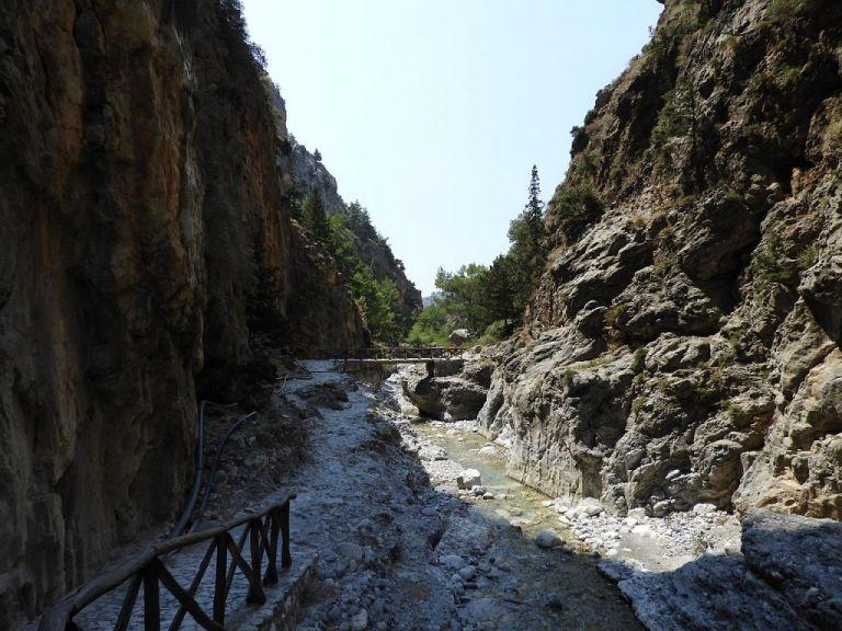 Ανοικτό από τη νότια είσοδο το φαράγγι της Σαμαριάς | tanea.gr