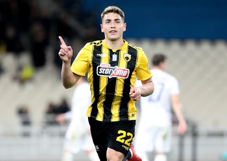 Το γκολ του Πόνσε για το 1-0 της ΑΕΚ (vid)   tanea.gr