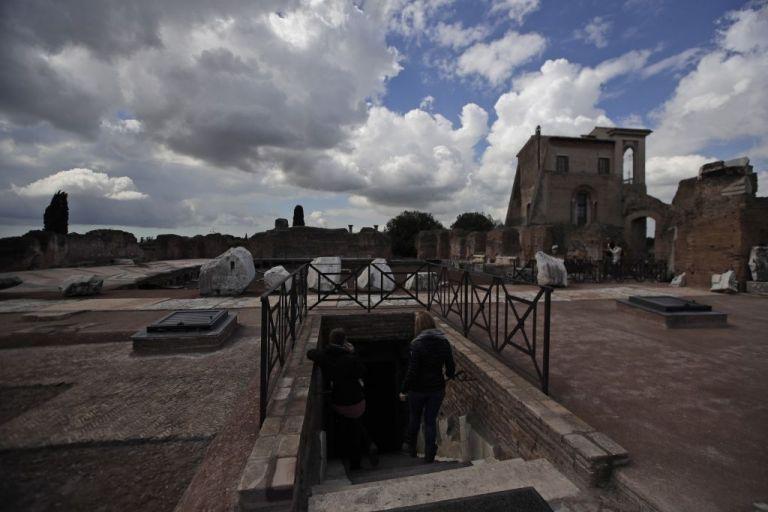 Εντυπωσιακές φωτογραφίες από το παλάτι του Νέρωνα | tanea.gr