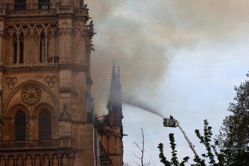 Παναγία των Παρισίων: Η ολονύκτια μάχη με τις φλόγες | tanea.gr
