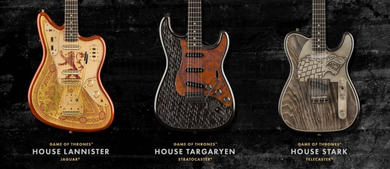 Game of Thrones: Τρεις νέες κιθάρες από τη Fender   tanea.gr