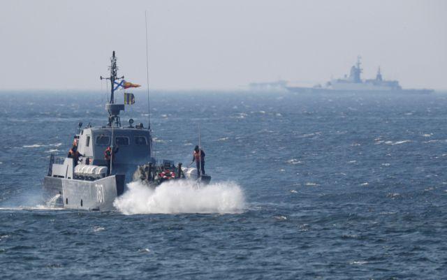 Ασκηση «Θαλάσσια Ασπίδα»: Ρωσικά πολεμικά πλοία στη Μαύρη Θάλασσα | tanea.gr