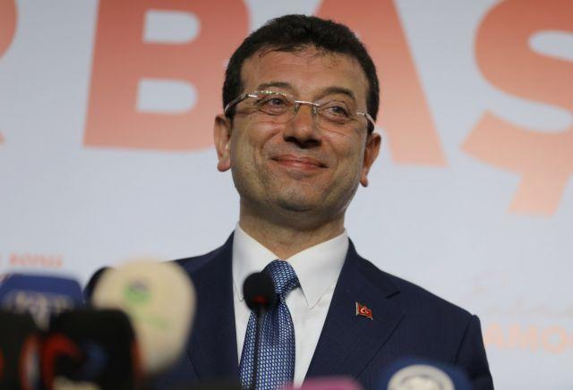 Ο Ιμάμογλου ανακήρυξε τη νίκη του στην Κωνσταντινούπολη | tanea.gr