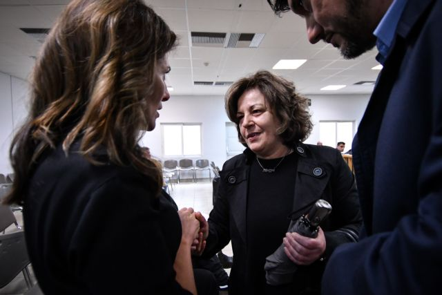 Η Μπέτυ Μπαζιάνα στη δίκη της Χρυσής Αυγής | tanea.gr