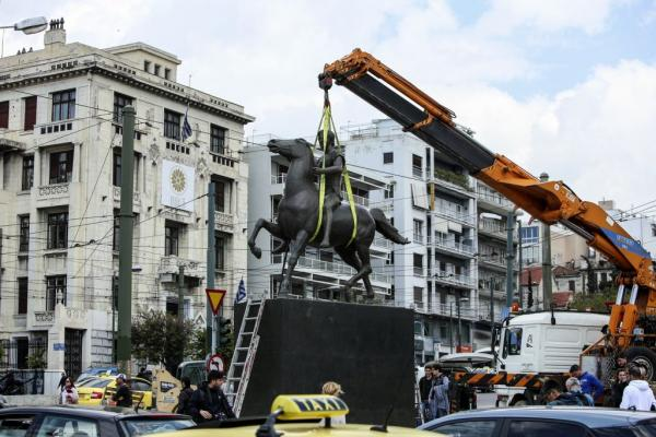 Ο Μέγας Αλέξανδρος πήγε στο Ζάππειο... πετώντας | tanea.gr