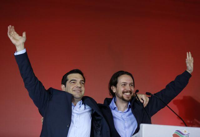 Πανηγυρίζει ο Τσίπρας για το εκλογικό αποτέλεσμα στην Ισπανία | tanea.gr